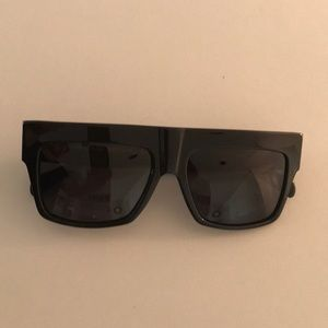 Celine black acetate sunglasses